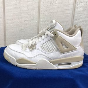 Nike, Air Jordan white sneakers sz 7Y mens/9wom